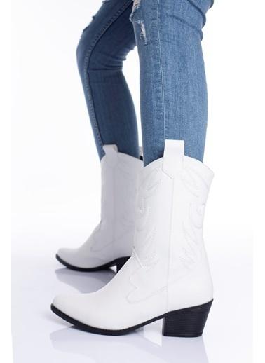 MODAGON Çizme Beyaz